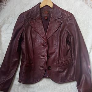 Danier Italian Leather Jacket